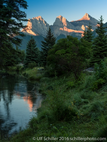 Three Sisters, Canmore, AB, Canada