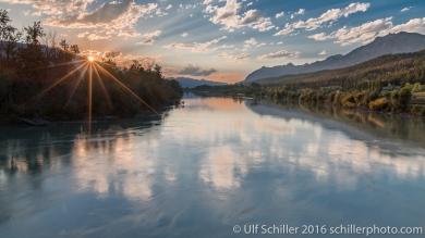 Columbia River near Golden, BC, Canada