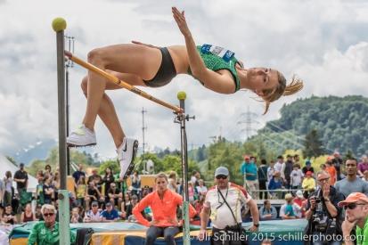 Brianne Theisen Eaton: Olympic Bronze Medalist (2016), Worlds Silver Medalist (2013 & 2015)