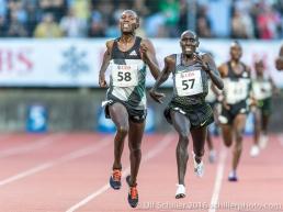 Cornelius Kangogo (57), Victor Chumo (58)