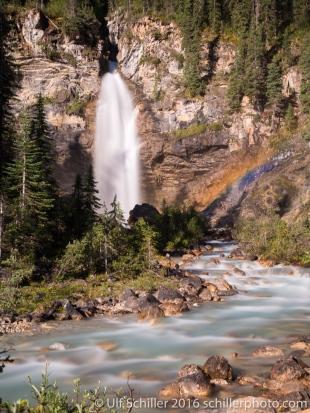 Laughing Falls, Yoho National Park, Canada
