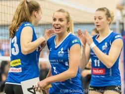 Volleyball NLA Damen SM'Aesch Peffingen vs Volley Lugano , 20. November 2016, Aesch
