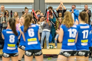 Volleyball NLA Damen SM'Aesch Peffingen vs Volley Lugano , 20. November 2016, Aesch