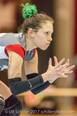 EDBERG Johanna (TS Volley Duedingen , 10) Volleyball Swiss NLA: TS Volley Duedingen vs Luzern, 22. January 2017, , Duedingen, Switzerland, Foto: Ulf Schiller 2017