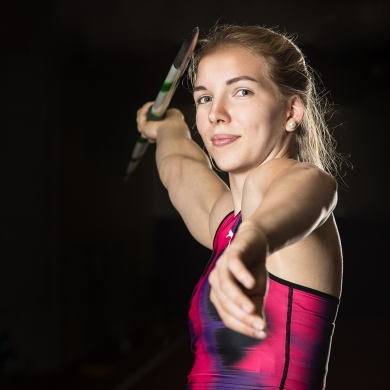 Géraldine Ruckstuhl: Swiss Record Javelin and Heptathlon; Silver U20 Europeans 2017