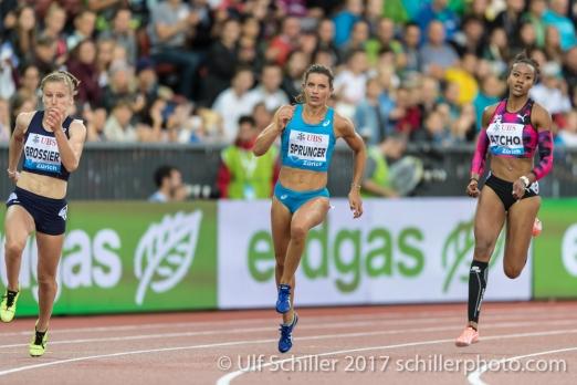 Ellen's farewell 200m in Zürich