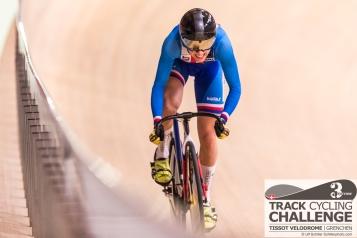 Sara KANKOVSKA (DUB - DUKLA BRNO, CZE) at the UCI TRACK CYCLING CHALLENGE 2017 on December, 21 2017 in Grenchen (Tissot Velodrome), Schweiz, Photo Credit: Ulf Schiller 2017