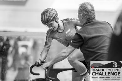 Miriam WELTE (FKA - 1. FC KAISERSLAUTERN, GER) at the UCI TRACK CYCLING CHALLENGE 2017 on December, 21 2017 in Grenchen (Tissot Velodrome), Schweiz, Photo Credit: Ulf Schiller 2017