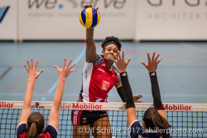 Volleyball CH: NLA Edelline Köniz vs TS Volley Duedingen