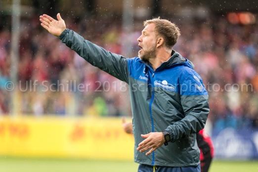 Lars Voßler: Assistant Coach SC Freiburg substituting the regular head coach Christian Streich
