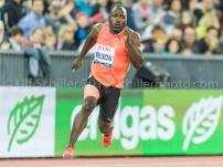 Alex WILSON (SUI, 200 m ) Leichtathletik Weltklasse Zuerich, 2018 am 30.08.18 im Stadion Letzigrund in Zuerich (Schweiz).
