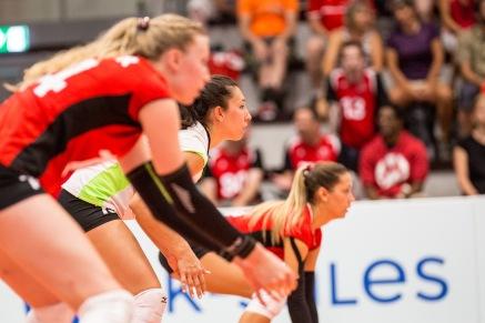Thays Deprati, Libera of the Swiss National Volleyball Team