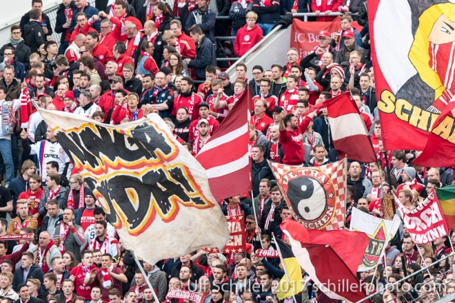 Bundesliga 29. Spieltag: Bayer 04 Leverkusen vs FC Bayern Muenchen, 15.04.2017