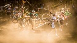 MEISEN Marcel (GER #51) UCI Cyclo-Cross Weltcup Bern 2018 am 21.10.18 im Weyermannshus in Bern (Schweiz).