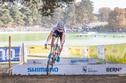 VAN DER POEL Mathieu (NED #19) UCI Cyclo-Cross Weltcup Bern 2018 am 21.10.18 im Weyermannshus in Bern (Schweiz).