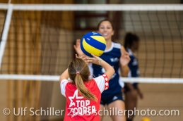 Kickoff: Showtraining Volley Duedingen Volleyball Preseason 2018-19 Testmatch am 06.10.18 im Sportzentrum Leimacker in Duedingen (Schweiz).