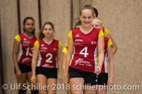 Kickoff: Team presentation Volley Duedingen Volleyball Preseason 2018-19 Testmatch am 06.10.18 im Sportzentrum Leimacker in Duedingen (Schweiz).