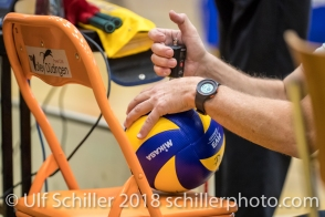 Volleyball Preseason 2018-19 Testmatch am 06.10.18 im Sportzentrum Leimacker in Duedingen (Schweiz).