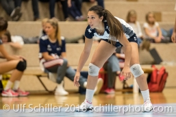 Thays Deprati (Volley Duedingen #5) Volleyball Preseason 2018-19 Testmatch am 06.10.18 im Sportzentrum Leimacker in Duedingen (Schweiz).