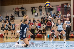 Kerley Becker (Volley Duedingen #2) Volleyball Preseason 2018-19 Testmatch am 06.10.18 im Sportzentrum Leimacker in Duedingen (Schweiz).