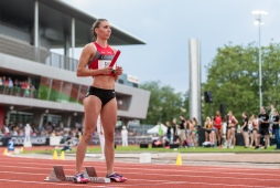 Cornelia Halbheer during the Citius Meeting Bern 2018 on 16 June, 2018 in Bern (Wankdorf Stadion), Switzerland, Photo Credit: Ulf Schiller / ATHLETIX / FRESHFOCUS