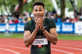 Jason Joseph sets up a Swiss U23 record during the Citius Meeting Bern 2018 on 16 June, 2018 in Bern (Wankdorf Stadion), Switzerland, Photo Credit: Ulf Schiller / ATHLETIX / FRESHFOCUS