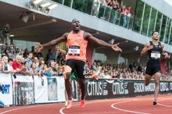 Alex Wilson sets up a Swiss record over 200m during the Citius Meeting Bern 2018 on 16 June, 2018 in Bern (Wankdorf Stadion), Switzerland, Photo Credit: Ulf Schiller / ATHLETIX / FRESHFOCUS
