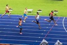 Alex Wilson (SUI) 200 m Semifinal European Athletics Championships am 08.08.18 im Olympiastadion in Berlin (Deutschland). European Athletics Championships on 08.08.18 at the Olympic Stadium in Berlin, Germany. Photo Credit: Ulf Schiller / ATHLETIX.CH