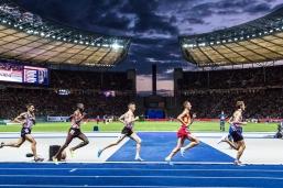 5000 m mit Julien Wanders (SUI) European Athletics Championships am 11.08.18 im Olympiastadion in Berlin (Deutschland). European Athletics Championships on 11.08.18 at the Olympic Stadium in Berlin, Germany. Photo Credit: Ulf Schiller / ATHLETIX.CH