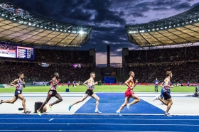 5000 m mit Julien Wanders (SUI) European Athletics Championships am 11.08.18 im Olympiastadion in Berlin (Deutschland). European Athletics Championships on 11.08.18 at the Olympic Stadium in Berlin, Germany. Photo Credit: Ulf Schiller / ATHLETIX.CH