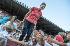 SPRUNGER Lea ( SUI #168) at Gala dei Castelli 2018 Bellinzona on 18 July, 2018 in Bellinzona (Stadio Comunale), Switzerland, Photo Credit: Ulf Schiller