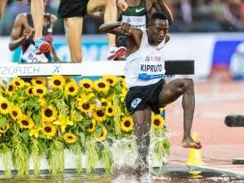 Kiproto (3000m Steeple) Leichtathletik Weltklasse Zuerich, 2018 am 30.08.18 im Stadion Letzigrund in Zuerich (Schweiz).