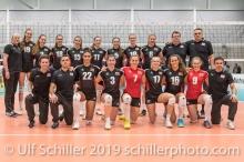 Team Oesterreich / Austria Volleyball European Championship Qualification Women Switzerland vs Austria on January 9, 2019 at Betoncoupe Arena in Schoenenwerd (Switzerland).