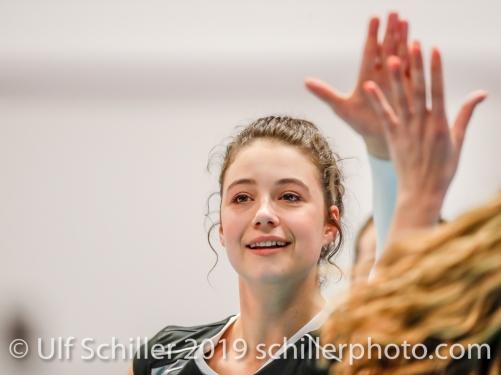 Julie Lengweiler (Switzerland #1); Montreux Volley Masters Switzerland vs Italy 2019 on May, 16, 2019 in Montreux (Switzerland).