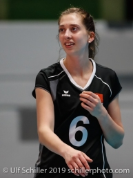 Madlaina Matter (Switzerland #6); Montreux Volley Masters Switzerland vs Italy 2019 on May, 16, 2019 in Montreux (Switzerland).