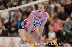 Annalea Maeder (Sm'Aesch Pfeffingen #17) Volleyball Swiss Cup Semifinal Volley Duedingen vs Sm'Aesch Pfeffingen on February 23, 2020 in Duedingen (Switzerland)