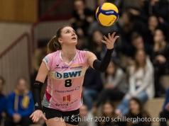 Monika Chrtianska (Sm'Aesch Pfeffingen #8) Volleyball Swiss Cup Semifinal Volley Duedingen vs Sm'Aesch Pfeffingen on February 23, 2020 in Duedingen (Switzerland)