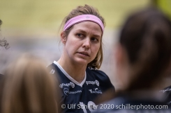 Samantha Cash (TS Volley Duedingen Powercats, #18) Volleyball Swiss Championship Playoff Quarterfinal Volley Duedingen vs Cheseaux on February 26, 2020 in Duedingen (Switzerland)